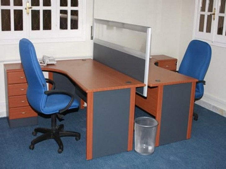 small office space two desks - Google Search | Desks for small .