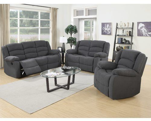 Mayflower 3 Piece Reclining Living Room Set | 3 piece living room .