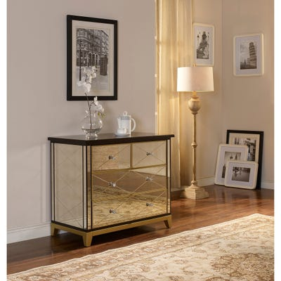 Buy Size 4-drawer Mirrored Dressers & Chests Online at Overstock .