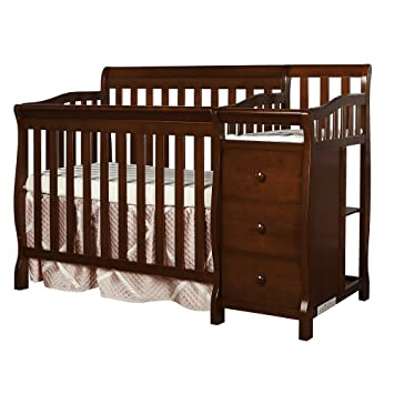 Amazon.com : Dream On Me Jayden 4-in-1 Mini Convertible Crib And .