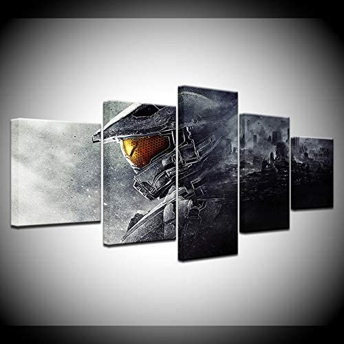 Amazon.com: HOPE003 Canvas Painting 5 Piece Framed 5 Piece Wall .