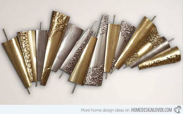 Abstract Metal Wall Art Sculpture