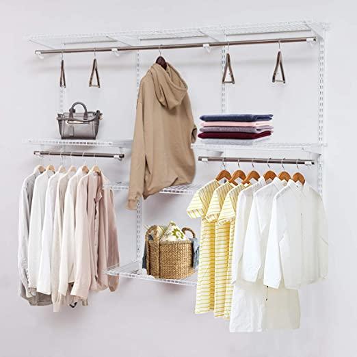 Amazon.com: Tangkula Custom Closet Organizer System, Wall Mounted .