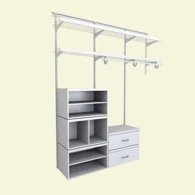White - Closet Systems - Closet Organizers - The Home Dep