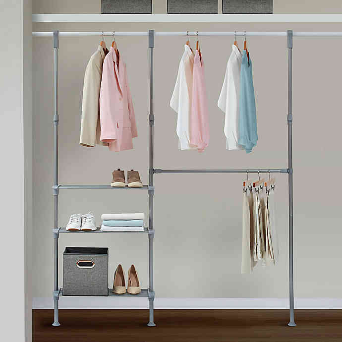 Relaxed Living Adjustable Closet System | Bed Bath & Beyo
