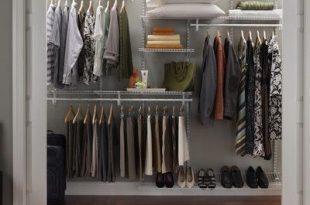 ClosetMaid ShelfTrack Adjustable Closet Organizer Kit & Reviews .
