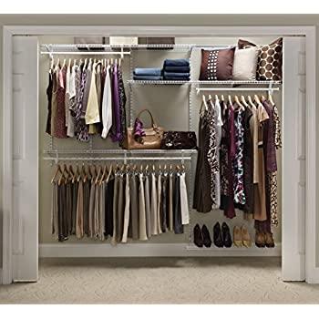 Amazon.com: ClosetMaid 22875 ShelfTrack 5ft. to 8ft. Adjustable .