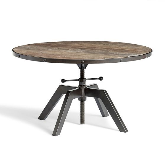 Blaine Reclaimed Wood Adjustable Bunching Coffee Table in 2020 .