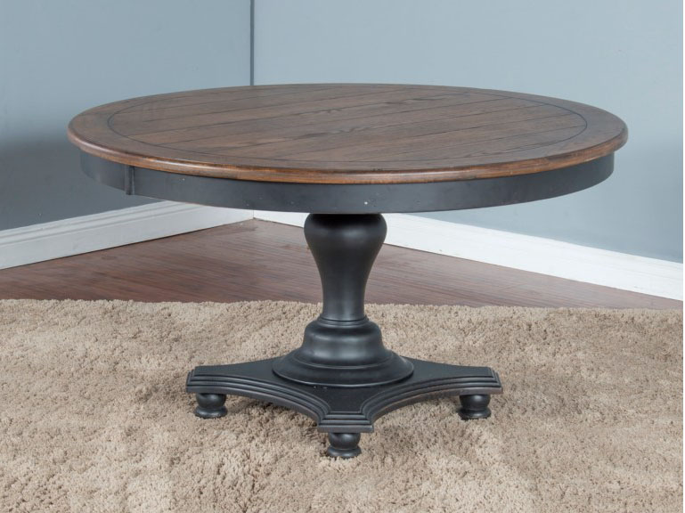 adjustable height round dining table