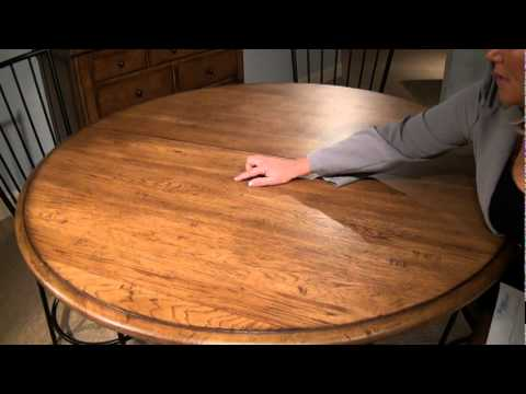 Main Street Round Adjustable Height Pedestal Dining Table by .
