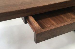 Buy a Hand Made Modern Adjustable Standing Desk - Walnut Electric .
