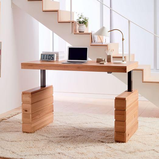 Stack Sit + Stand Adjustable Desk | Adjustable office desks .