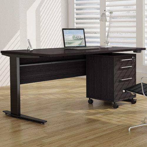 Murphree Height Adjustable Standing desk | Adjustable height desk .