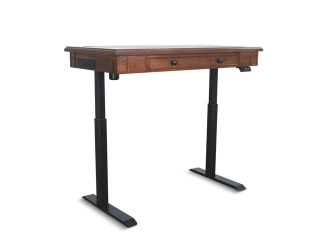 AITERMINAL Electric Standing Desk Single Motor 49.2 x 25.6 Inch .