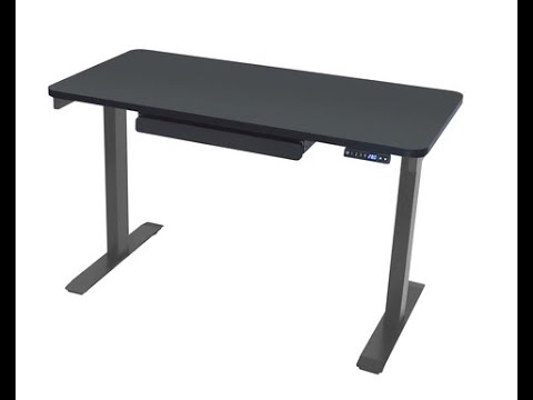 MotionWise Manager Series Electric Height Adjustable Desk with .