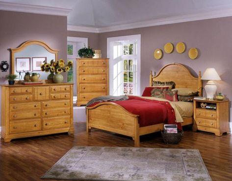 American Home Furniture Schlafzimmer-Sets | Pine bedroom furniture .