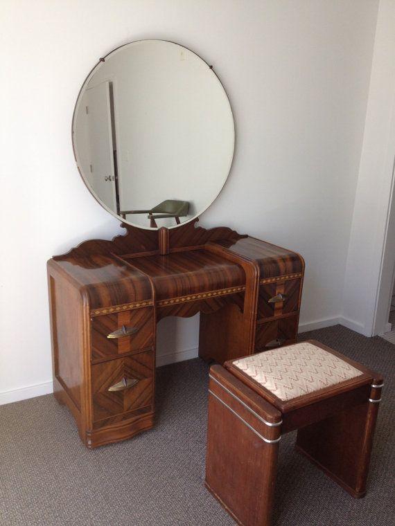 Antique Furnitures (With images) | Art deco bedroom furniture, Art .