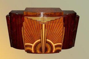 Fabulous Art Deco Furniture Adding Rich Colors and Unique Designs .