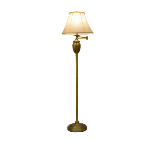 Nuevo Emmett Floor Lamp in Antique Brass for sale online | eB