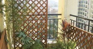 Apartment Balcony Privacy Screen | Le Zai Le Zai Gardening Company .