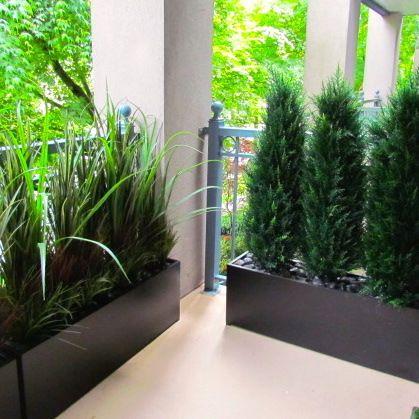 Condo Balcony Privacy Screen … | Condo balcony, Apartment pat