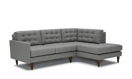 Perfect apartment size sectional sofa can make your small .