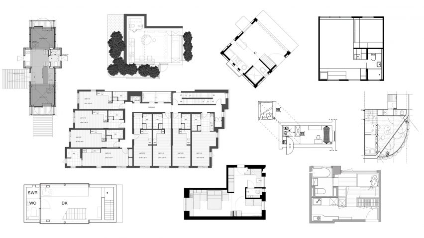 10 micro home floor plans designed to save spa