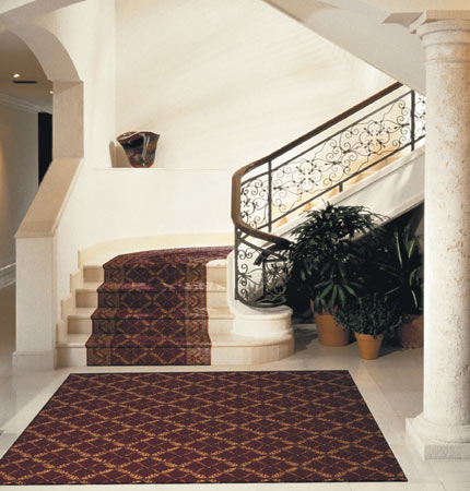 Bordered Stair Carpeting, Bordered Stair Runn