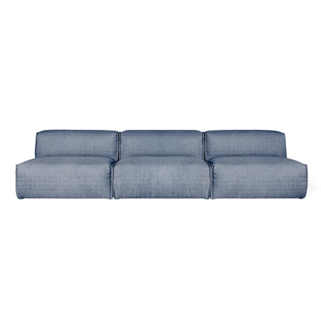 Gus Nexus 3PC Armless Sectional Sofa - 2Mode