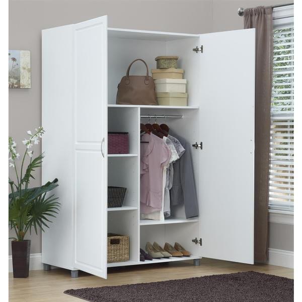 Armoire Wardrobe Storage Cabinet For   Bedroom