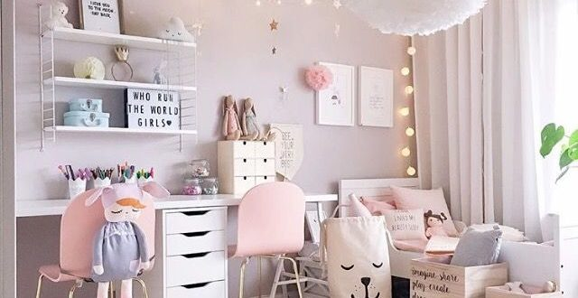 27+ Girls Room Decor Ideas to Change The Feel of The Room | Cool .