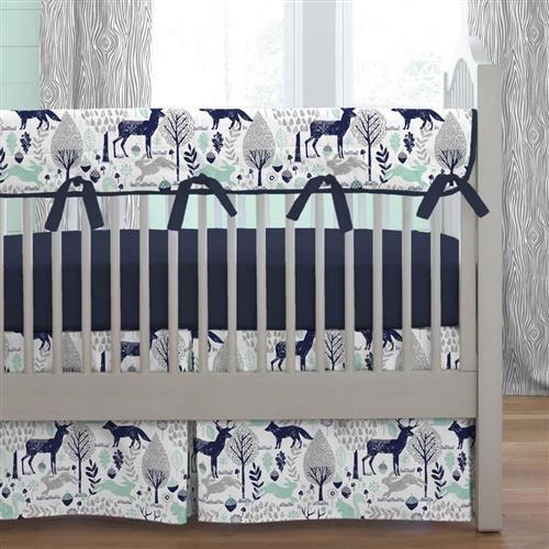 Baby Boy Bedding | Boy Crib Bedding Sets | Carousel Desig