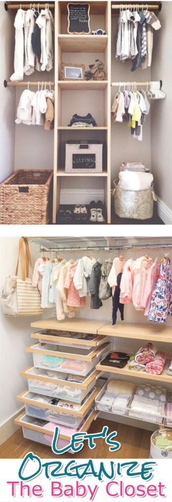 37+ Baby Closet Organization Ideas - Nursery Closet Organization .