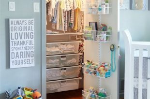 Baby Closet Ideas: 47 Nursery Closet Organization, Storage and .
