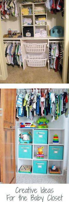130 Best Nursery Closet Organization • images in 2020 | Nursery .