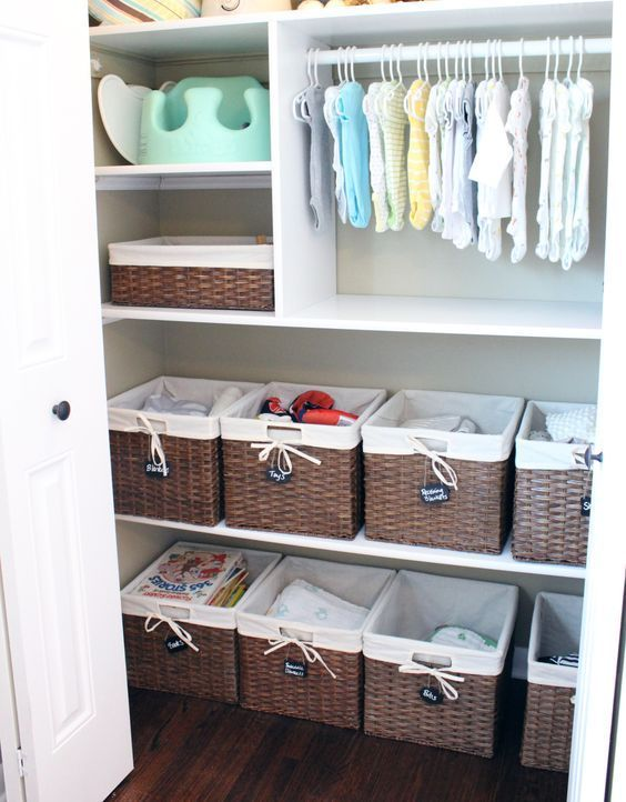 Baby Closet Ideas: 47 Nursery Closet Organization, Storage and .