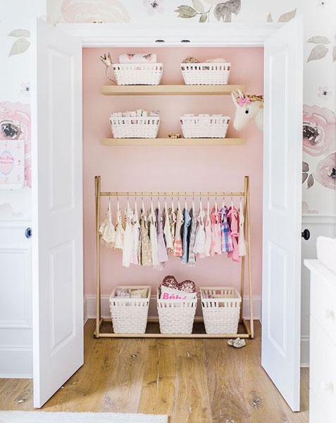 Baby Closet Ideas | Nursery Organization Ide