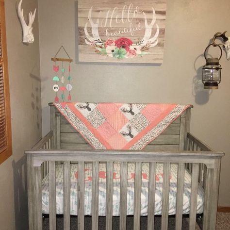 Baby girl Nursery, Rustic | Rustic baby nurseries, Rustic baby .