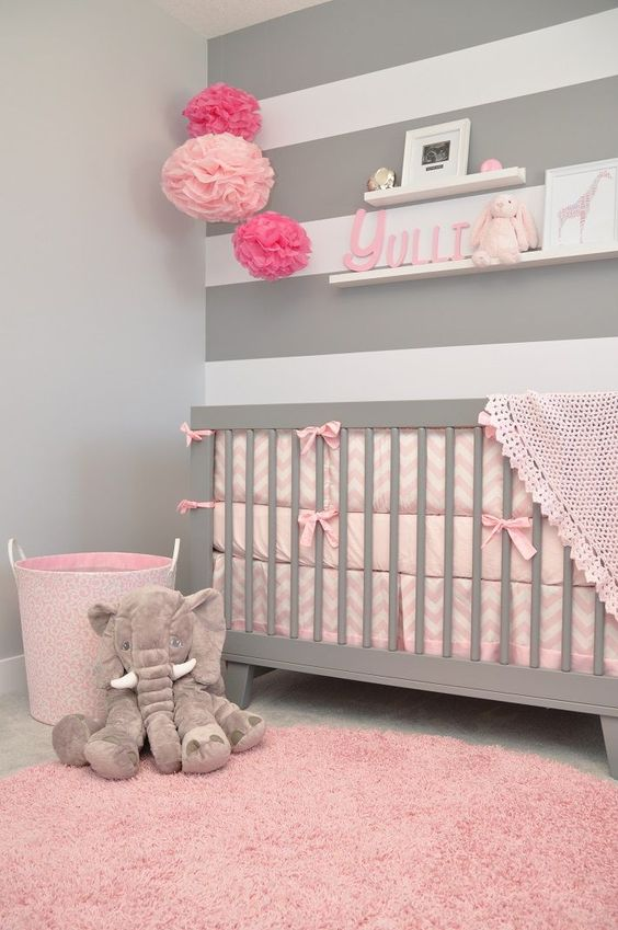 baby girl nursery themes ideas