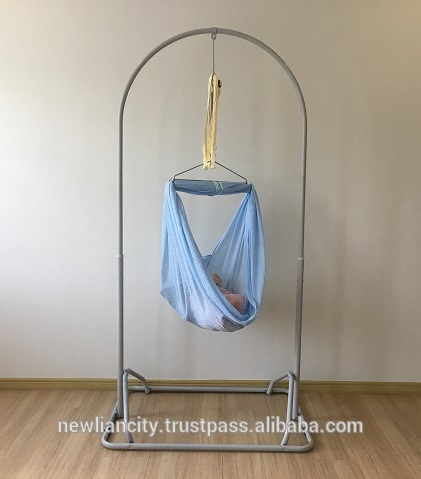 Malaysia Quality Assured Baby Hammock Iron Stand Set with Optional .