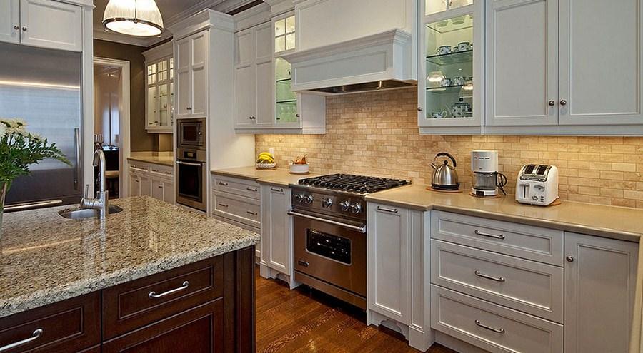 5 Modern Kitchen Backsplash Ideas With White Cabinets - Dream Hou