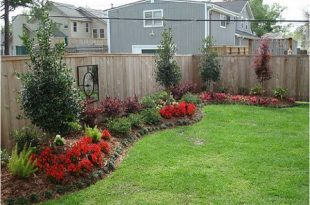 Backyard, along the fence? | Backyard landscaping designs .