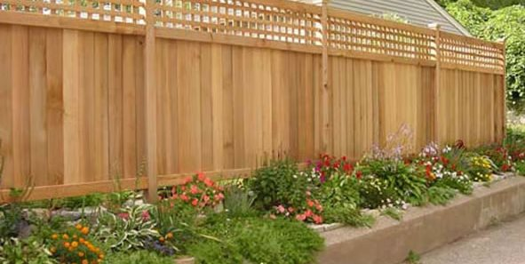 Landscape Fence Ideas and Gates - Landscaping Netwo