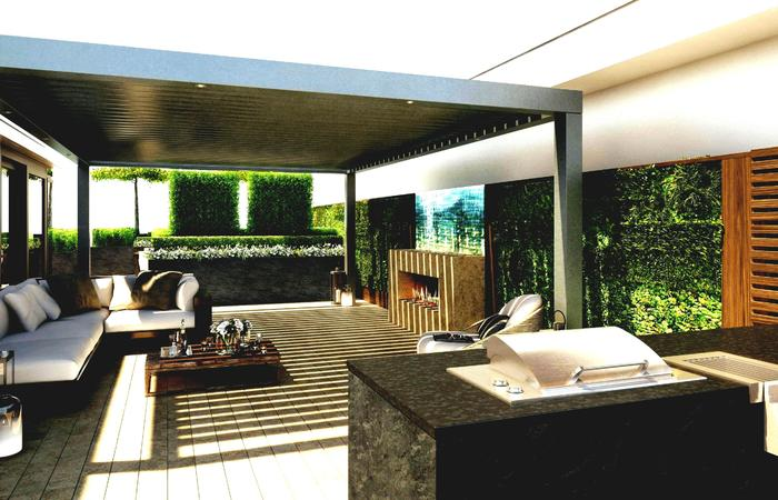Interior Terrace Design For Small House Decoration Apartment .