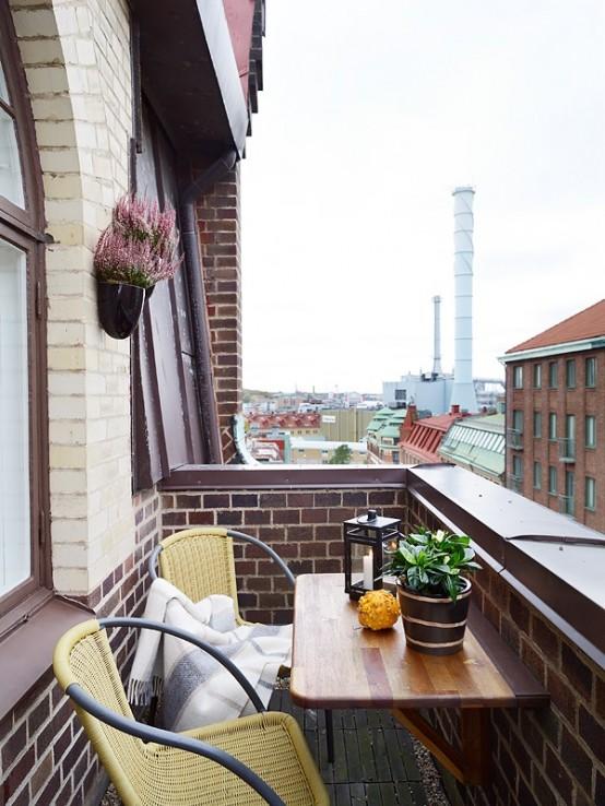 67 Cool Small Balcony Design Ide