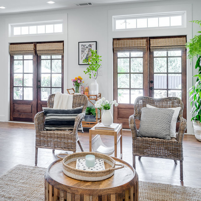 Beyond Shutters: Alternatives to French Door Coverings | The .