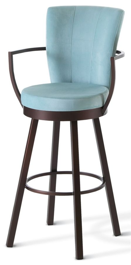 Bar Stools With Arms And Backs That   Swivel