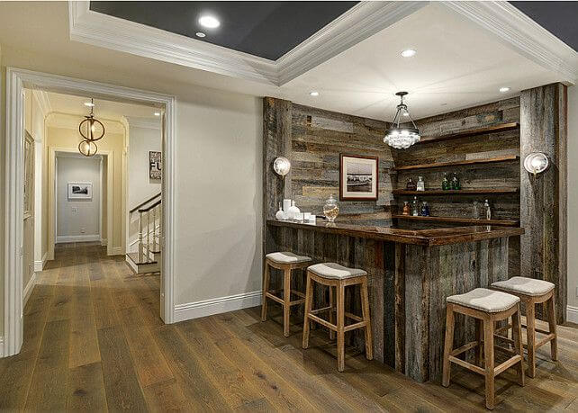 basement bar ideas for small spaces - CueTh