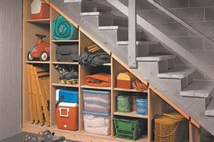 5 Basement Under Stairs Storage Ideas | Basement remodeling .