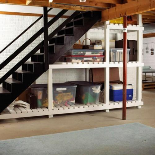 5 Basement Under Stairs Storage Ideas - Shelterne